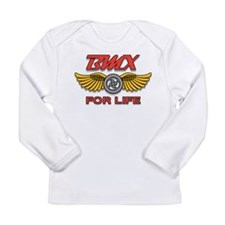 Bicycle Motocross For Life Long Sleeve Infant T-Sh