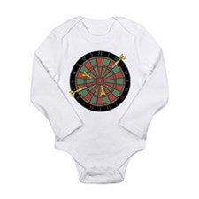 Darts Long Sleeve Infant Bodysuit