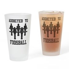 Addicted To Foosball Pint Glass