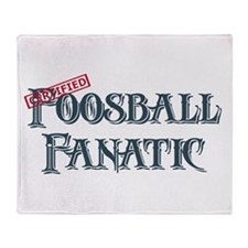 Foosball Fanatic Throw Blanket