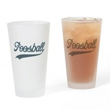 Retro Foosball Pint Glass
