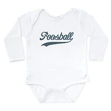 Retro Foosball Long Sleeve Infant Bodysuit