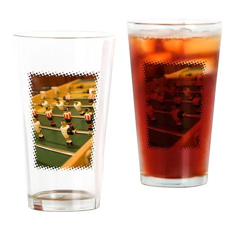 Foosball Pint Glass