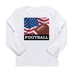 American Football Long Sleeve Infant T-Shirt