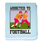 Addicted To Football baby blanket