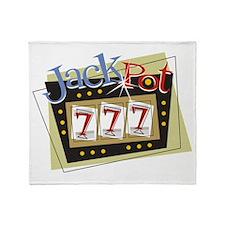 Jackpot 777 Throw Blanket