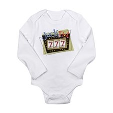 Jackpot 777 Long Sleeve Infant Bodysuit