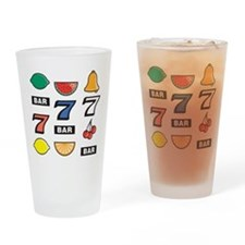 Slot Machine Pint Glass