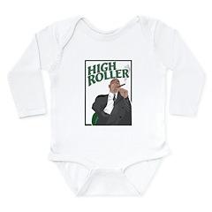 High Roller Long Sleeve Infant Bodysuit