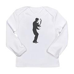 Guitar Player Long Sleeve Infant T-Shirt