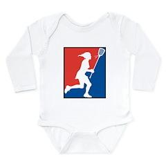 Lacrosse Long Sleeve Infant Bodysuit