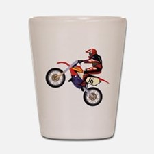 Motorcross Shot Glass