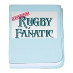 Rugby Fanatic baby blanket