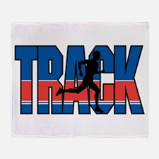 Track & Field Throw Blanket