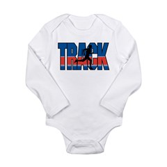 Track & Field Long Sleeve Infant Bodysuit