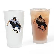 Skateboarding Pint Glass