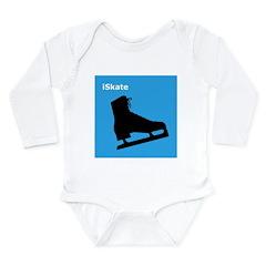 iSkate Long Sleeve Infant Bodysuit