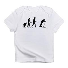 Skiing Evolution Infant T-Shirt