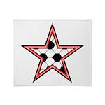 Soccer Star Throw Blanket
