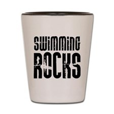 Swimming Rocks Shot Glass