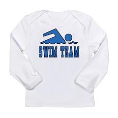 Swimming (Swim Team) Long Sleeve Infant T-Shirt