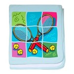 Tennis Puzzle baby blanket