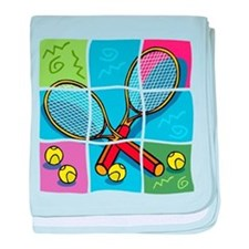 Tennis Puzzle baby blanket