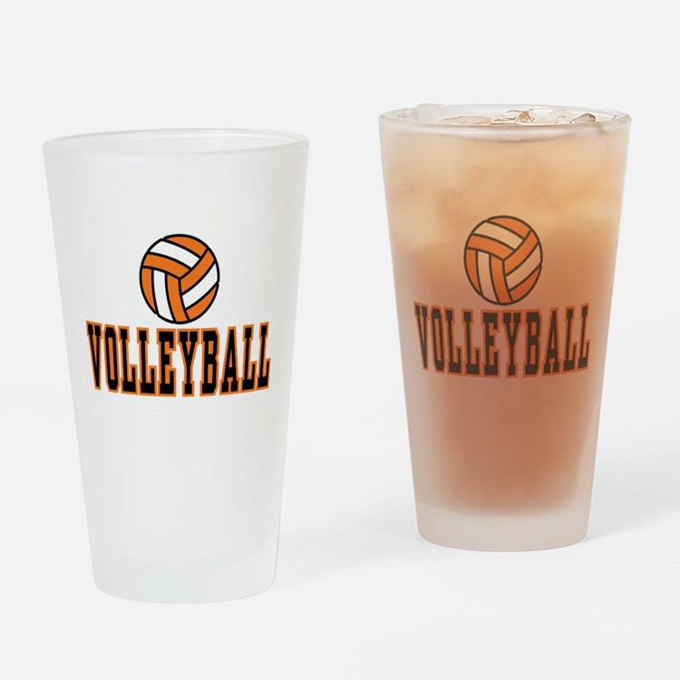 Volleyball Pint Glass