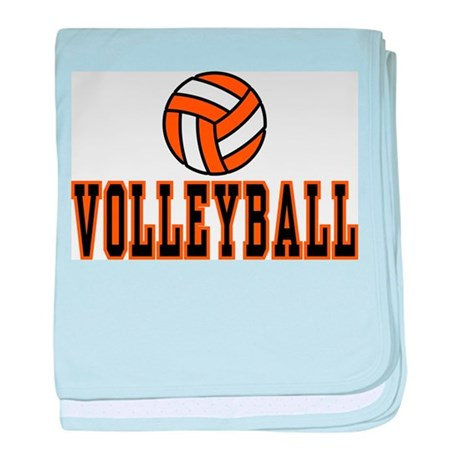 Volleyball baby blanket
