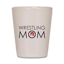Wrestlig Mom Shot Glass