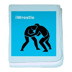 iWrestle baby blanket