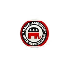SAVE AMERICA Mini Button