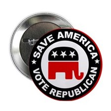 """SAVE AMERICA 2.25"""" Button (10 pack)"""