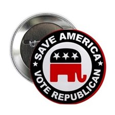 "SAVE AMERICA 2.25"" Button"