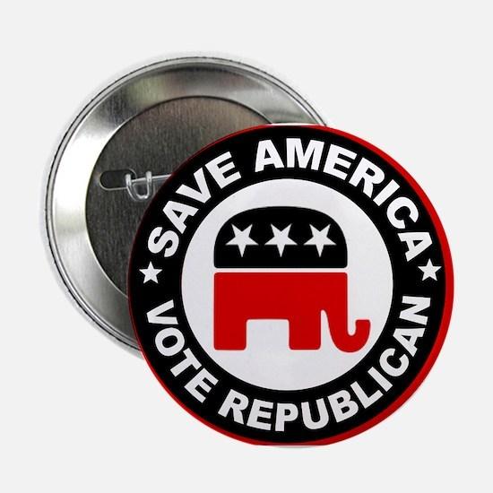 """SAVE AMERICA 2.25"""" Button"""
