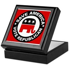 SAVE AMERICA Keepsake Box