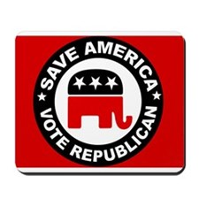 SAVE AMERICA Mousepad