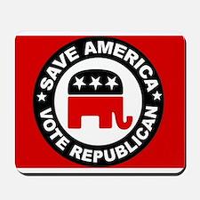 SAVE AMERICA Mousepad