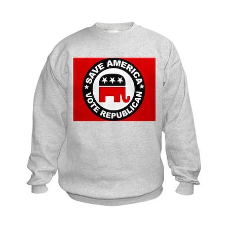 SAVE AMERICA Kids Sweatshirt