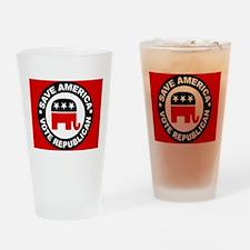 SAVE AMERICA Pint Glass