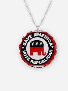 SAVE AMERICA Necklace