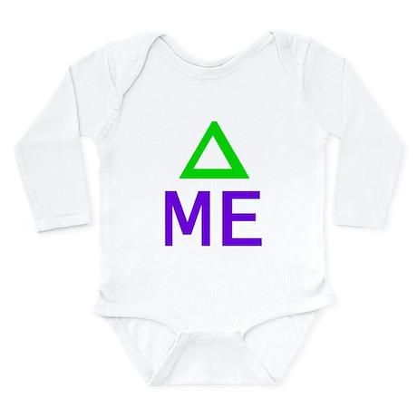 Change Me Math Long Sleeve Infant Bodysuit