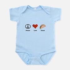 Peace Love Tacos Infant Bodysuit
