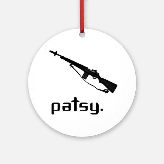 Patsy Ornament (Round)