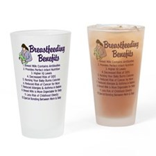 Breastfeeding Benefits Drinking Glass