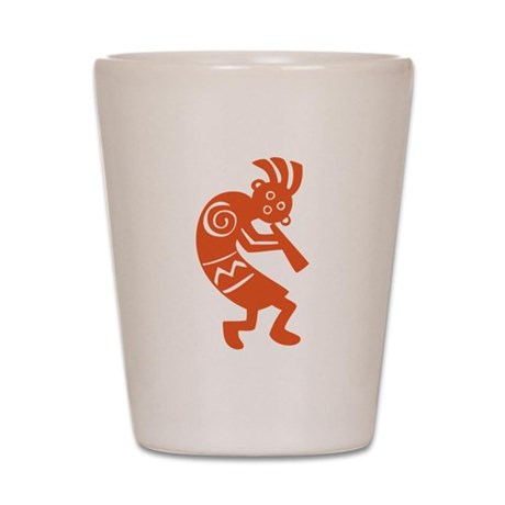 Kokopelli Shot Glass