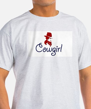 Cowgirl Ash Grey T-Shirt