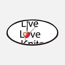 Live Love KNIT Patches