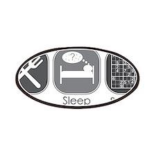 Eat, Sleep, Sudoku Patches