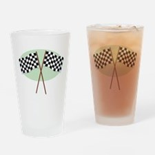 Racing Flags Pint Glass